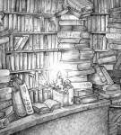 Książki i ludzie - tak mogły wyglądać biblioteki rozmówców Barbary Łopieńskiej