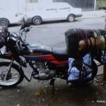Miejskim motorem obok Panamericany