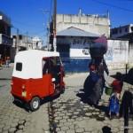 Odwiedził m.in. Kostarykę, Dominikanę i Haiti, które nadal nie pozbierał'o się™ po trzęsieniu ziemi..