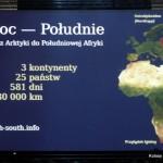 Trasa imponujacej, ponad półtorarocznej wyprawy z Arktyki na koniec Afryki