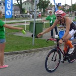 Dopiero z opisów cudzych fotek rozpoznałam Macieja Dowbora - czempion wśród gwiazd - 48. miejsce w Herbalife Triathlonie!